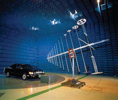 汽车(整车/车载电子设备)EMC测试系统