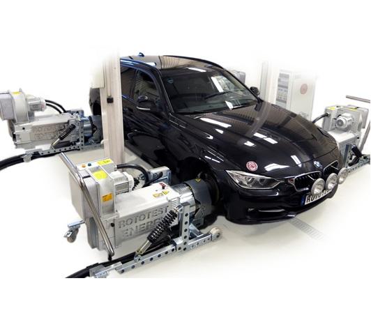可转向·可移动·轴耦合式底盘测功机测试系统